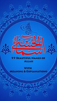 99 Names of Allah: AsmaUlHusna poster