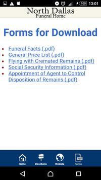 North Dallas Funeral Home apk screenshot