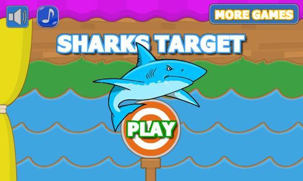 Sharks Target Shooting poster