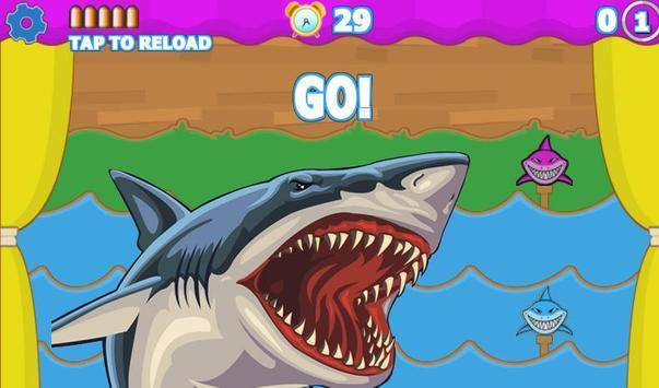 Sharks Target Shooting apk screenshot