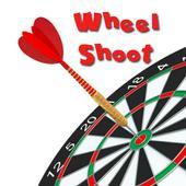 Wheel Shoot Target Zeichen