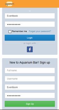 Aquarium Bar poster