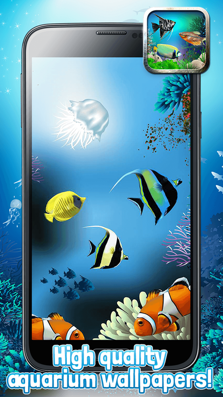... 3D Aquarium Live Wallpaper & Moving Fish Themes screenshot 3