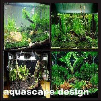 Aquascape design poster