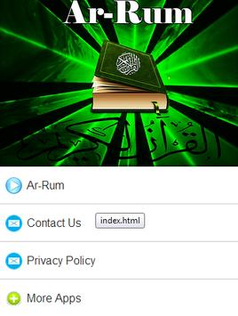 Surah Ar - Rum Mp3 screenshot 9