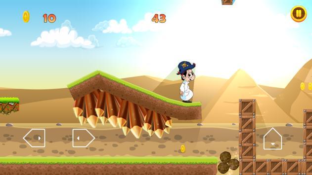 كسلان في الاهرام ومغامراته apk screenshot