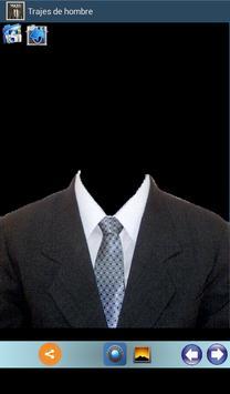 Trajes masculinos. Fotomontaje apk screenshot