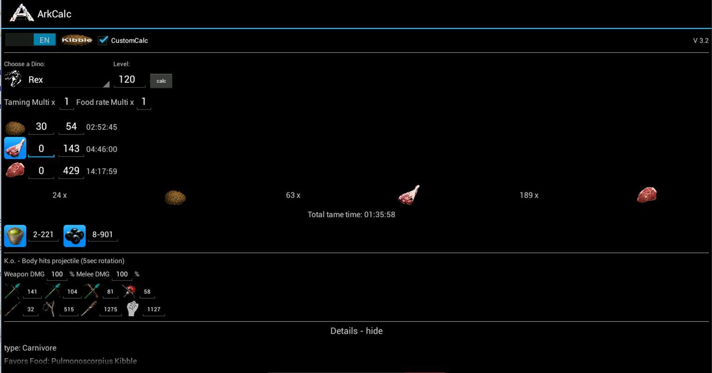 Arkcalc for ark survival evo descarga apk gratis herramientas arkcalc for ark survival evo captura de pantalla de la apk forumfinder Images