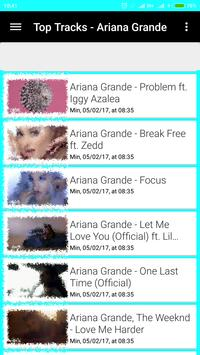 Ariana Grande Lyrics and Song apk screenshot