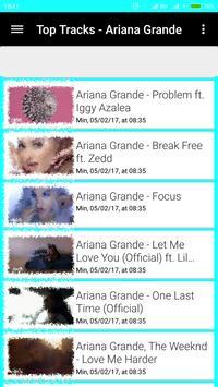 Songs and Videos ARIANA GRANDE screenshot 6