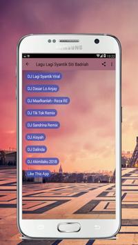 Lagu Lagi Syantik Siti Badriah Remix screenshot 1