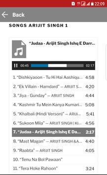 Arijit Singh Songs MP3 screenshot 2