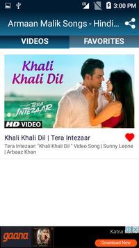 Armaan Malik Songs - Hindi Video Songs screenshot 2