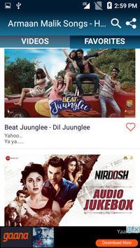 Armaan Malik Songs - Hindi Video Songs screenshot 3