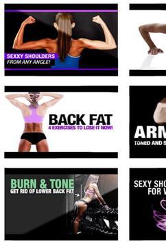 Arm Chest Workout for Women apk screenshot