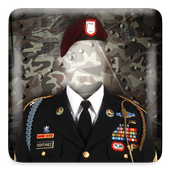 Army Photo Suit Editor icon