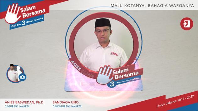 Anies-Sandi Untuk Jakarta poster