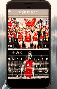 Keyboard For Arsenal Fans poster