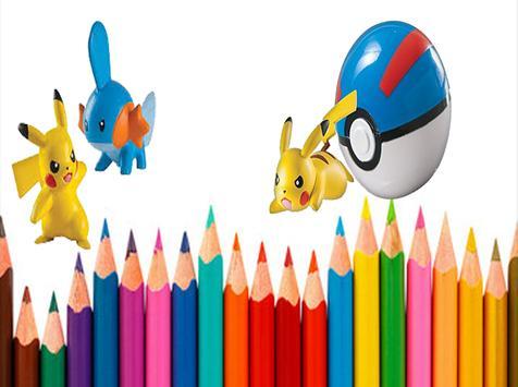 Art Cartoon Pikachu poster