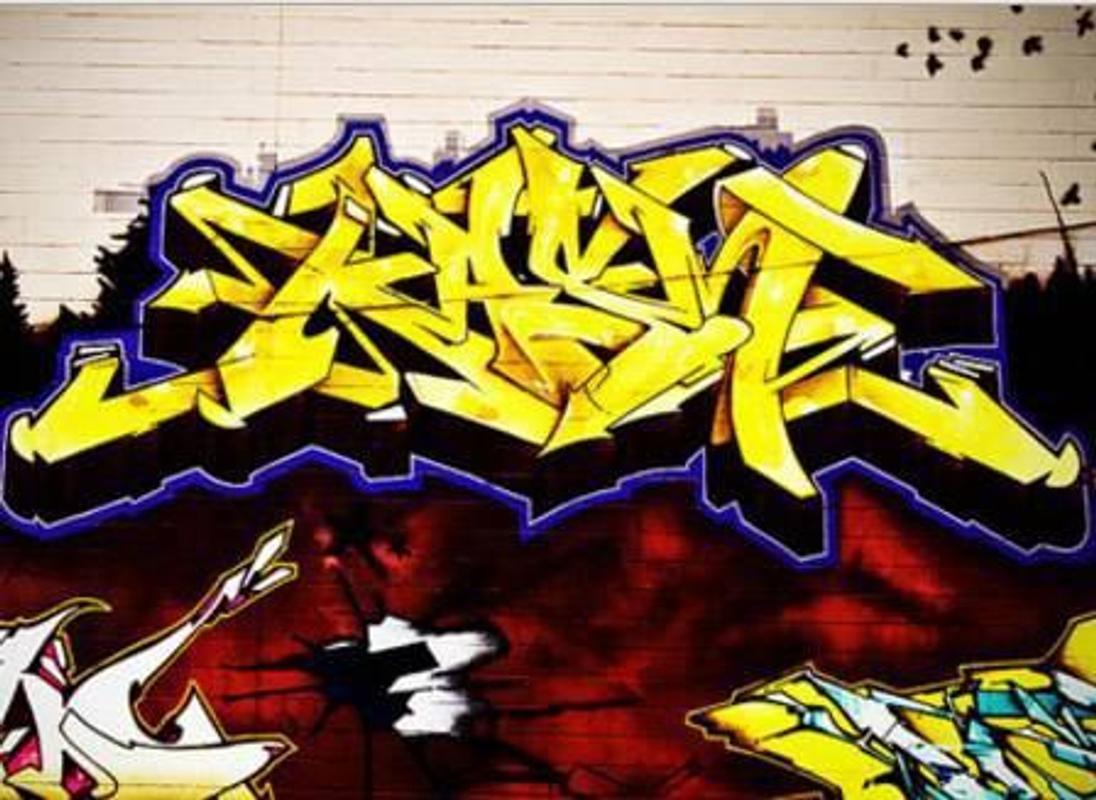 Seni graffiti 3d situs screenshot 7