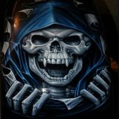 skull Hiphop Street Graffiti icon