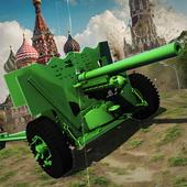 Artillery Russian antifascists icon