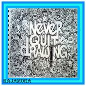 Artistic Doodle Art Name icon