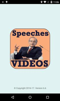 Arun Jaitley Speech VIDEOs poster