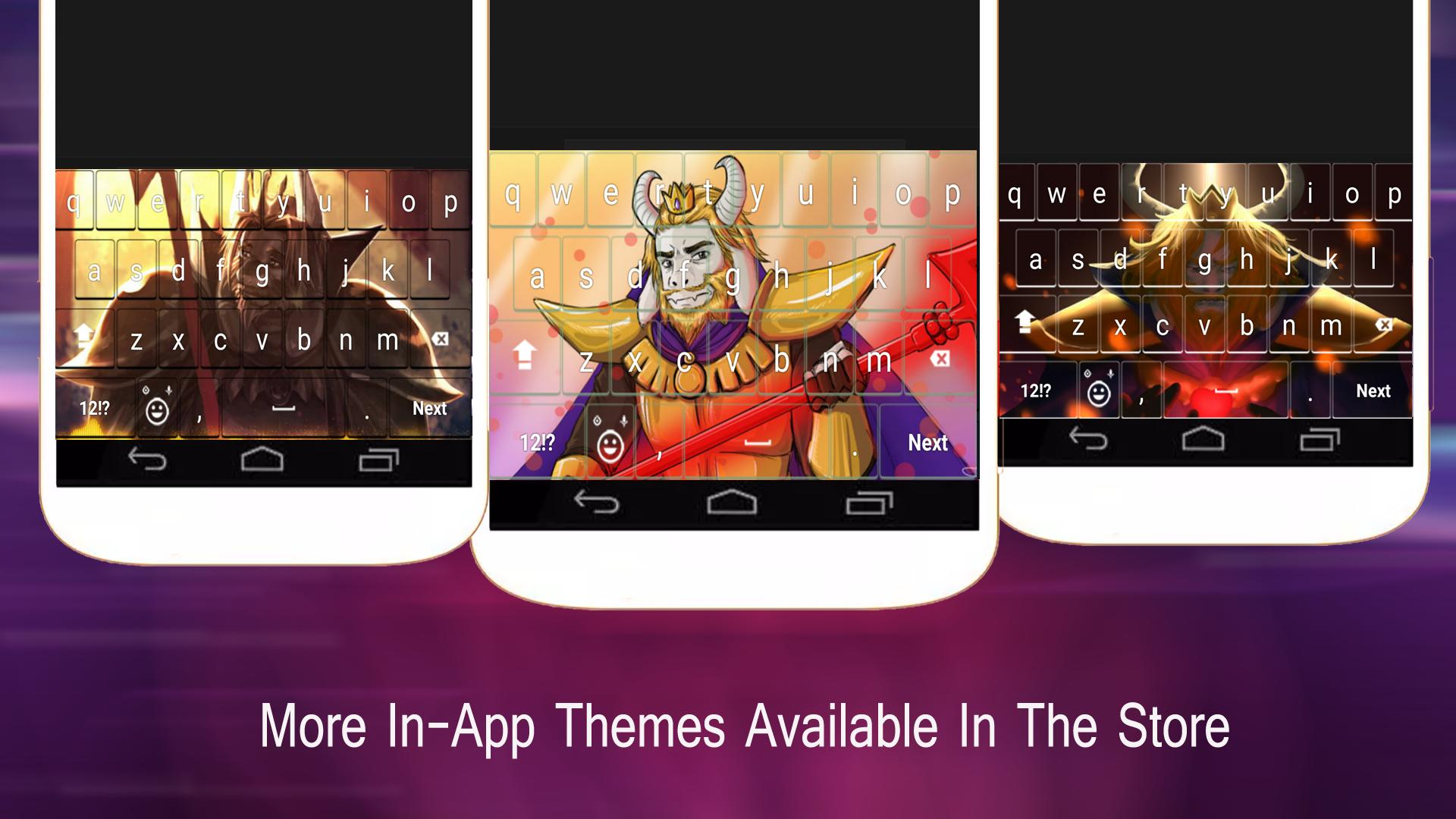 Asgore Dreemurr Undertale Keyboard for Android - APK Download