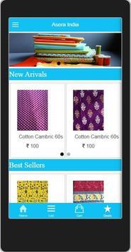AseraIndia shopping poster