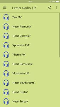 Exeter Radio, UK screenshot 1