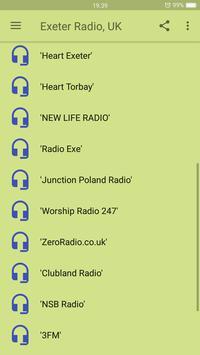 Exeter Radio, UK screenshot 2