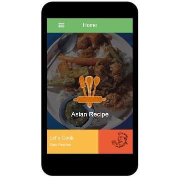Asian Recipes screenshot 5