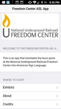 ASL Freedom Center App screenshot 1