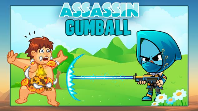 The Assassin Gumball apk screenshot