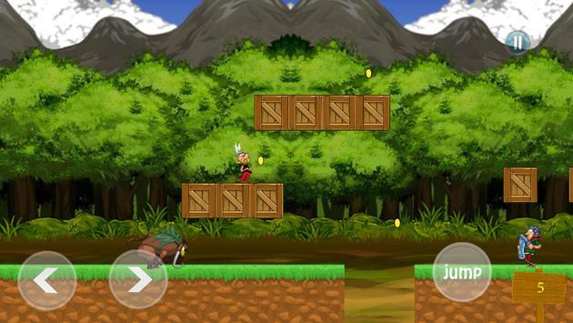 Game of Asterix and Obel IX vs julius ceaser screenshot 1