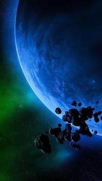 Asteroids Live Wallpaper screenshot 2