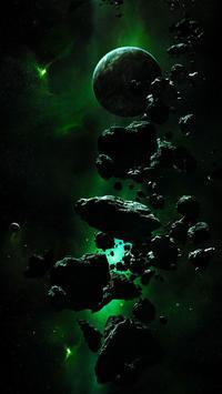 Asteroids Live Wallpaper screenshot 3