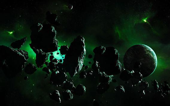 Asteroids Live Wallpaper screenshot 5
