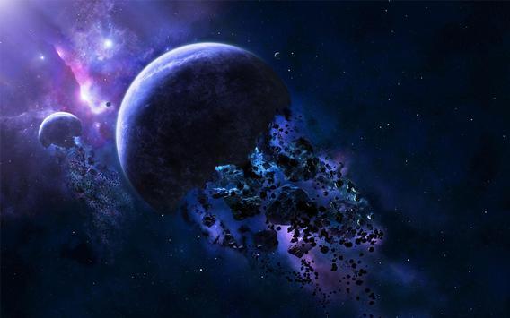Asteroids Live Wallpaper screenshot 6