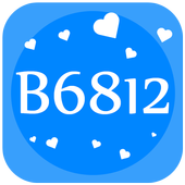 B6812-Selfie HD camera,Beauty camera icon