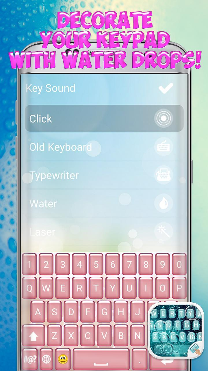 Water Bubble Keyboard for Android - APK Download