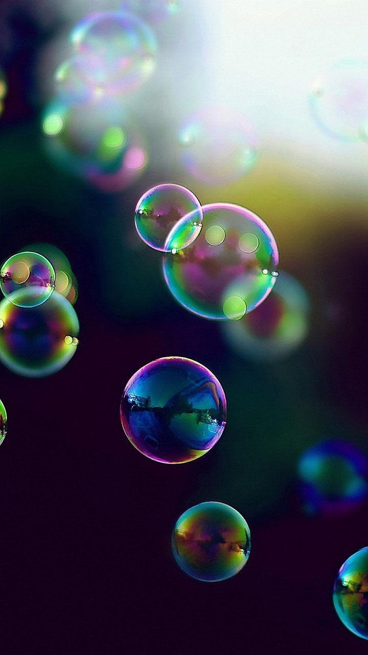 Картинки пузыри на телефон