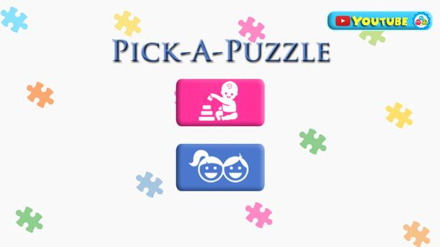 Pick-A-Puzzle poster