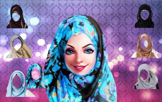 Hijab Make Up ,hijab fashion apk screenshot