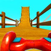 Hoverboard Stunts Hill Climb icon