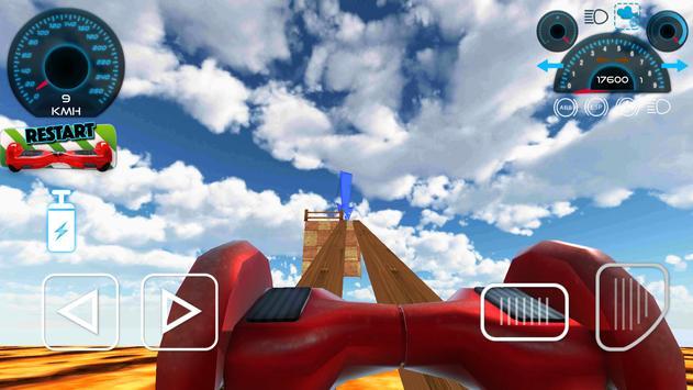 Hoverboard Stunts Hill Climb apk screenshot