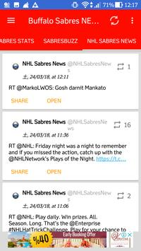 Buffalo Sabres All News screenshot 5