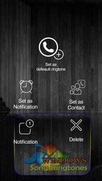 Windows Song Ringtones screenshot 2