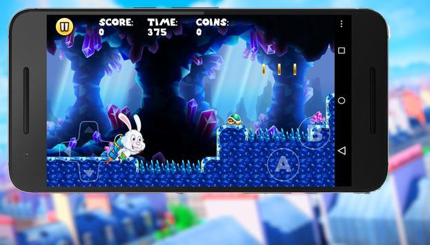 Bunny Peter  :Rabbit Adventure apk screenshot
